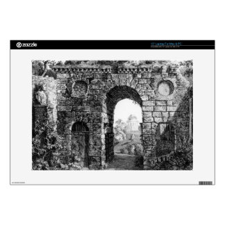 Ruins in the middle of Kew Gardens, from 'The Gard Laptop Skin