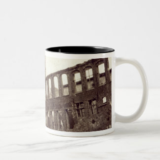 Ruins near the Powder Magazine, Ypres, June 1915 Two-Tone Coffee Mug