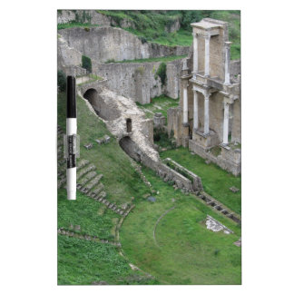 Ruins of a antique roman amphitheater Dry-Erase board