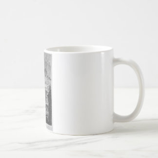 Ruins of an ancient tomb placed before other ruins coffee mug