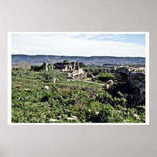 Ruins Of Ancient Greek City Of Miletus - Milet Print