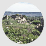 Ruins Of Ancient Greek City Of Miletus - Milet Round Sticker
