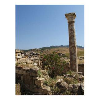 Ruins of ancient HIERAPOLIS. Post Card