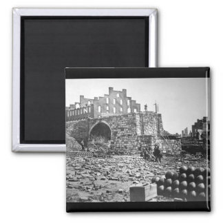Ruins of Arsenal, Richmond.  April 1865. Alexander Magnet