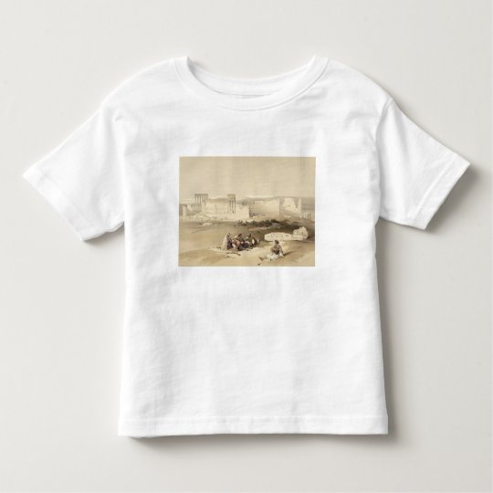 Ruins of Baalbec, May 5th 1839, plate 77 from Volu Toddler T-shirt
