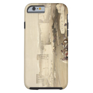 Ruins of Baalbec, May 5th 1839, plate 77 from Volu Tough iPhone 6 Case