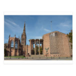 Ruins of bombed St Michael Cathedral, Coventry Post Card