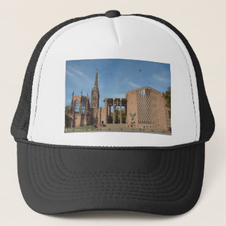 Ruins of bombed St Michael Cathedral, Coventry Trucker Hat