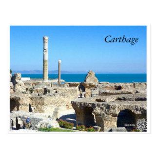 Ruins of Carthage II postcard