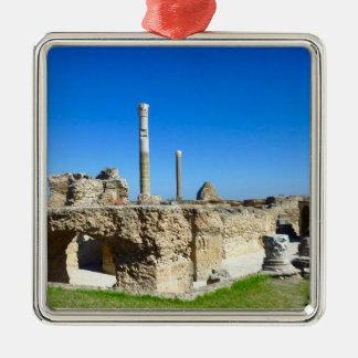 Ruins of Carthage Metal Ornament