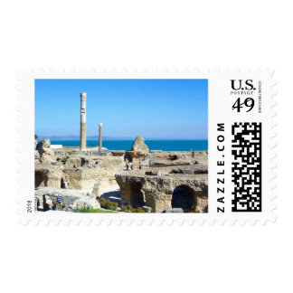 Ruins of Carthage photo Stamp