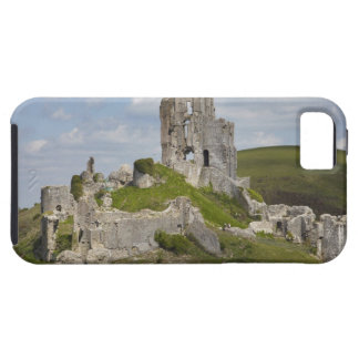 Ruins of Corfe Castle, near Wareham, Dorset, iPhone 5 Case