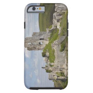 Ruins of Corfe Castle, near Wareham, Dorset, Tough iPhone 6 Case