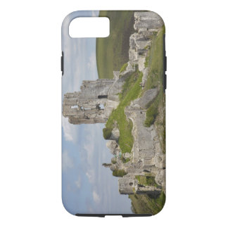 Ruins of Corfe Castle, near Wareham, Dorset, iPhone 8/7 Case