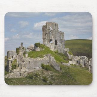 Ruins of Corfe Castle, near Wareham, Dorset, Mouse Pad