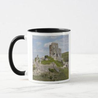 Ruins of Corfe Castle, near Wareham, Dorset, Mug