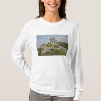 Ruins of Corfe Castle, near Wareham, Dorset, T-Shirt