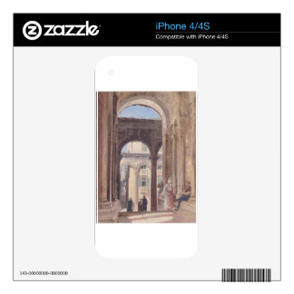 Ruins of Diocletian at Spalato by Rudolf von Alt Decal For The iPhone 4S