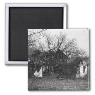 Ruins of farmhouse magnet