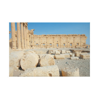 Ruins of Palmira Gallery Wrapped Canvas