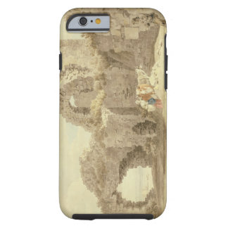 Ruins of Pevensey Castle (w/c on paper) Tough iPhone 6 Case