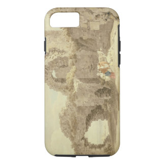 Ruins of Pevensey Castle (w/c on paper) iPhone 8/7 Case