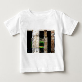 Ruins of Pompeii - Close-up of columns Baby T-Shirt
