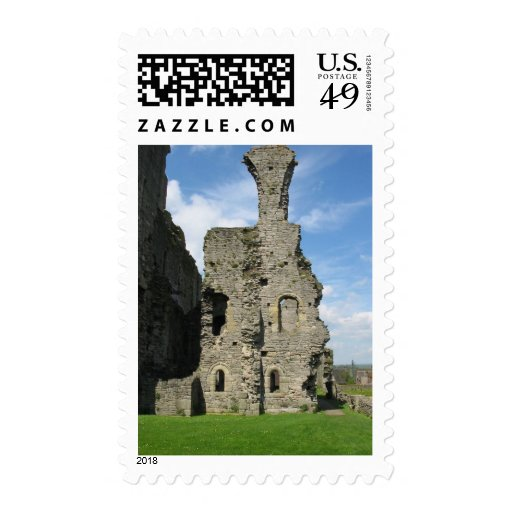 Ruins Of Richmond Castle Postage Stamp
