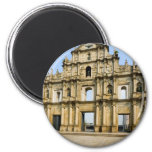 Ruins of Saint Paul's Cathedral Refrigerator Magnet