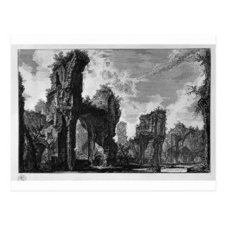 Ruins of Sixtus, or both of the great hall Postcard