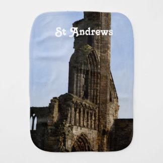 Ruins of St Andrews Burp Cloth