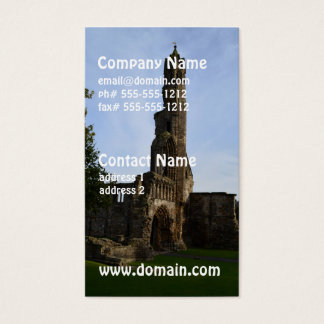 Ruins of St Andrews Business Card
