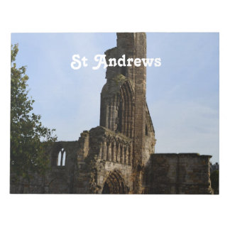Ruins of St Andrews Note Pad