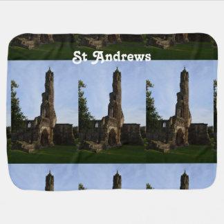 Ruins of St Andrews Receiving Blanket