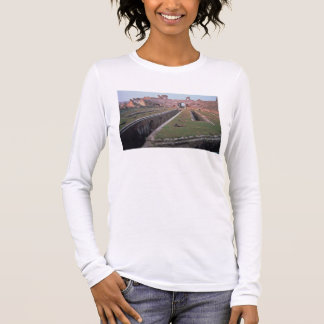 Ruins of the Amphitheatre, detail of a gallery giv Long Sleeve T-Shirt