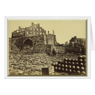 Ruins of the Arsenal, Richmond, Virginia Card