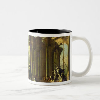 Ruins of the Baths of Caracalla Two-Tone Coffee Mug