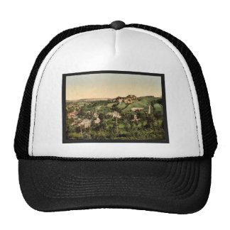 Ruins of the Castle of Arques, Dieppe, France clas Mesh Hat
