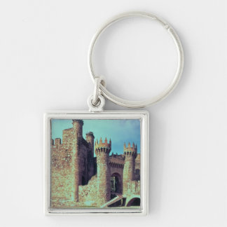 Ruins of the Castle of the Knights Templar Key Chain
