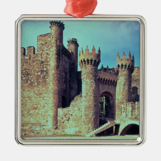 Ruins of the Castle of the Knights Templar Metal Ornament