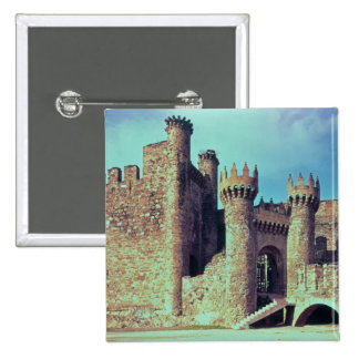 Ruins of the Castle of the Knights Templar Pinback Button