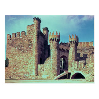 Ruins of the Castle of the Knights Templar Postcard