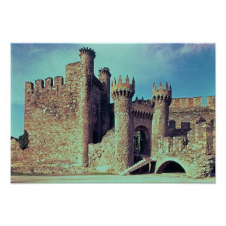 Ruins of the Castle of the Knights Templar Poster