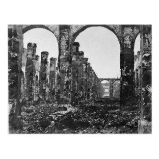 Ruins of the Cour des Comptes 2 Postcard