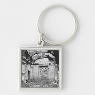 Ruins of the Cour des Comptes Keychain