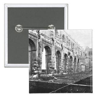 Ruins of the Cour des Comptes Pinback Button