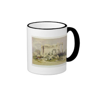 Ruins of the Eastern Portico of the Temple of Baal Ringer Coffee Mug