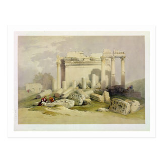 Ruins of the Eastern Portico of the Temple of Baal Postcards
