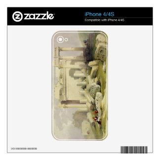 Ruins of the Eastern Portico of the Temple of Baal Decal For iPhone 4
