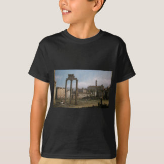 Ruins of the Forum, Rome by Bernardo Bellotto T-Shirt